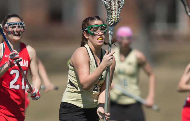 Women's Lacrosse Honors Seniors; Gambon Sets Record In Win