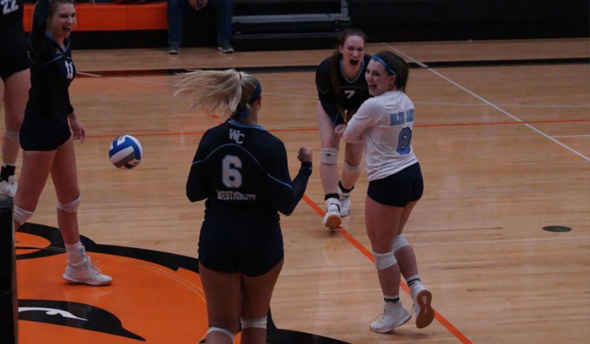 Westminster Volleyball Bows Out of NCAA Tournament