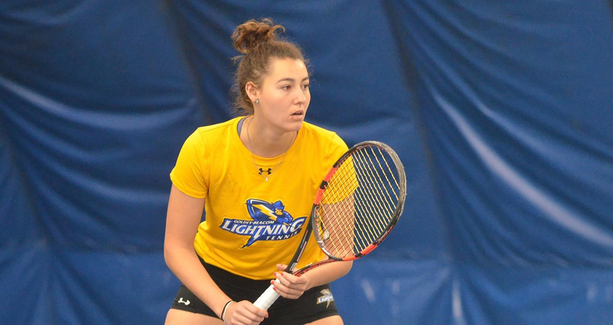 Goldey-Beacom Women's Tennis is Florida Bound with 4-0 Victory over Stonehill in NCAA 2nd Round
