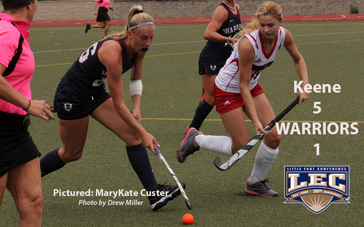 Field Hockey: Late Energy Helps Keene State Run Away with Little East Decision