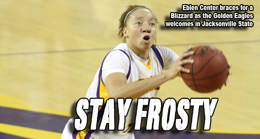 Snowy conditions expected at Eblen Center Monday night against Jacksonville State