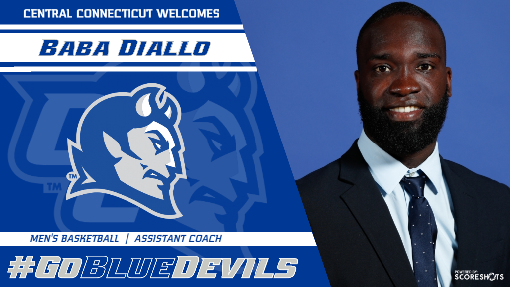Baba Diallo Named Men's Basketball Assistant Coach