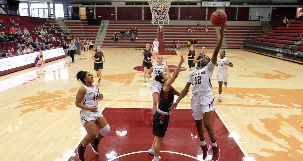Women's Basketball Concludes Road Trip at BYU Saturday