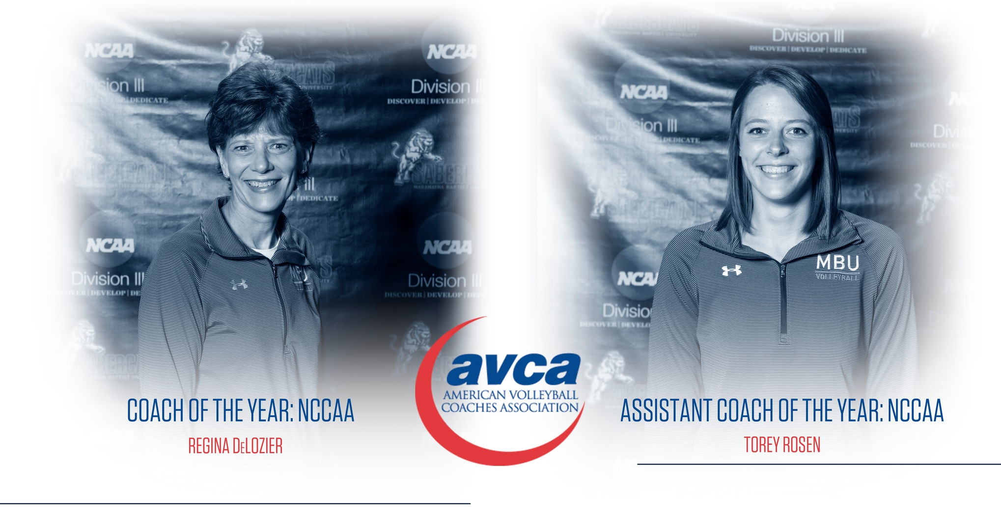DeLozier, Rosen: Mother-Daughter Duo Tabbed as Coaches of the Year