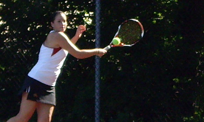Women's Tennis Tripped Up at UMass-Boston