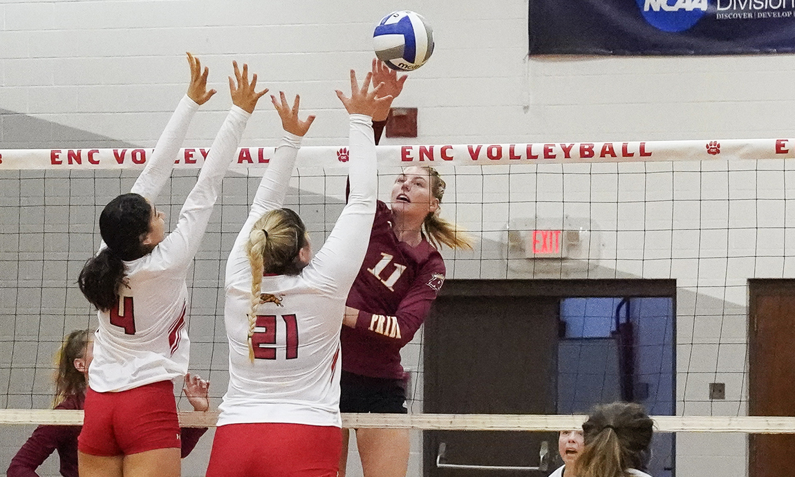 Pride Women's Volleyball Pulls Out 3-2 Road Victory