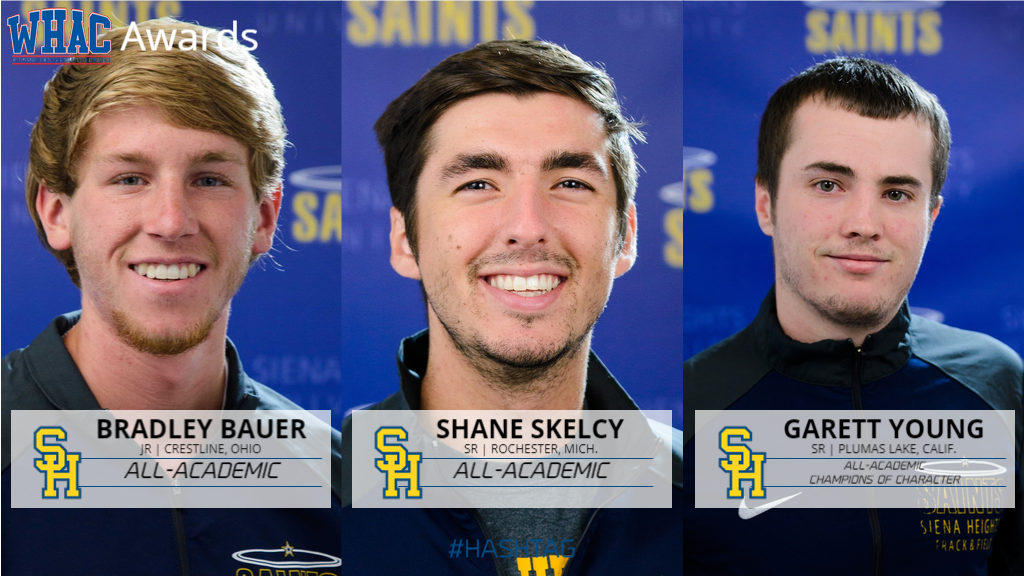 Three Saints Named in WHAC Men's Outdoor Track and Field Honors
