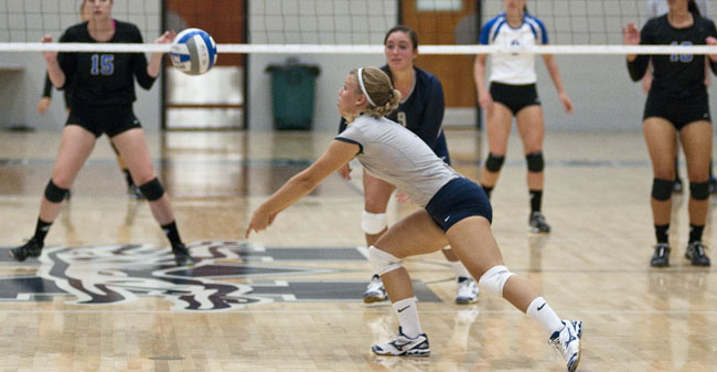 Krasley Ranked in This Week's NCAA Volleyball Statistics