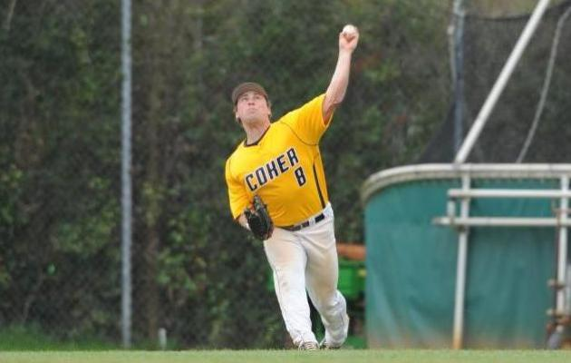 Coker and Mars Hill Spilt Baseball Series