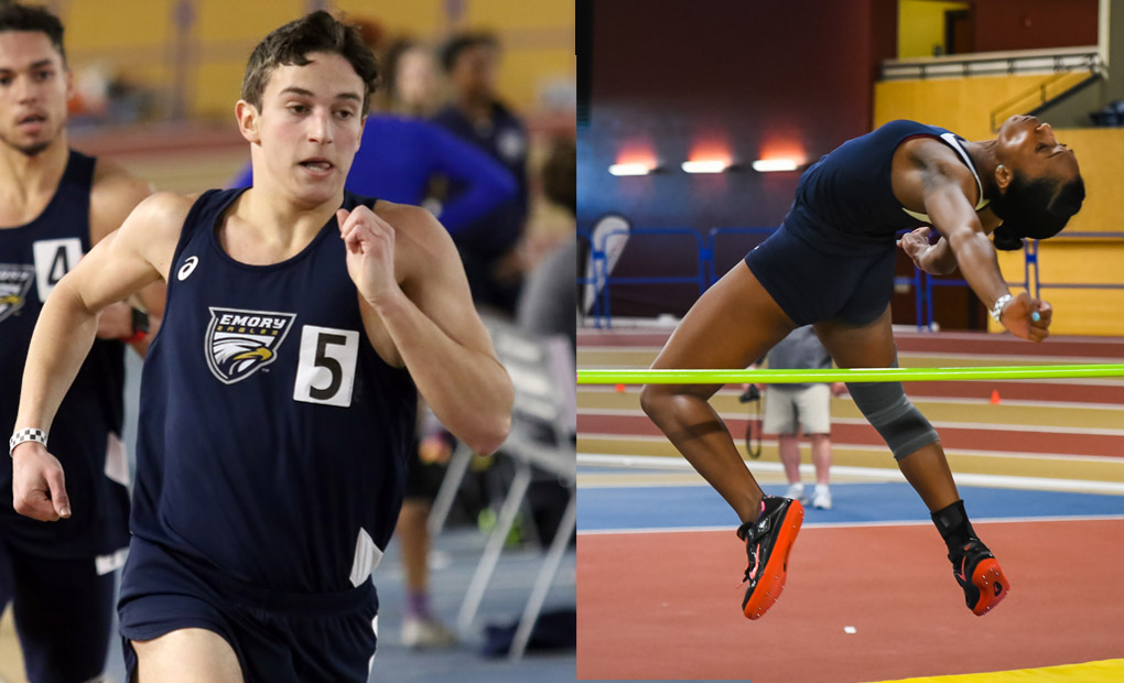 Emory Track & Field Teams Compete at Samford Open