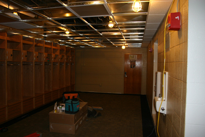 2010 11 Locker Room And Jarvis Weight Room Renovations