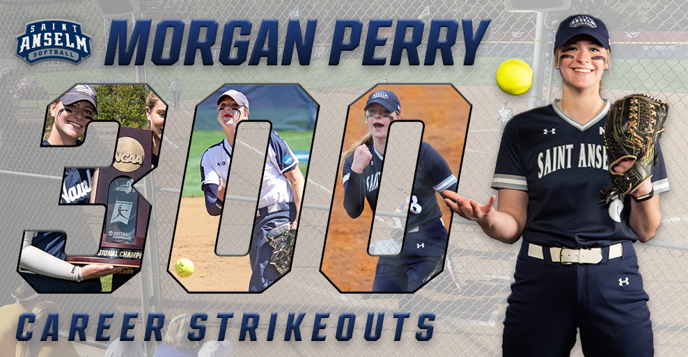 Perry records 300th career strikeout as No. 12 softball sweeps Mercy, Ferris St.