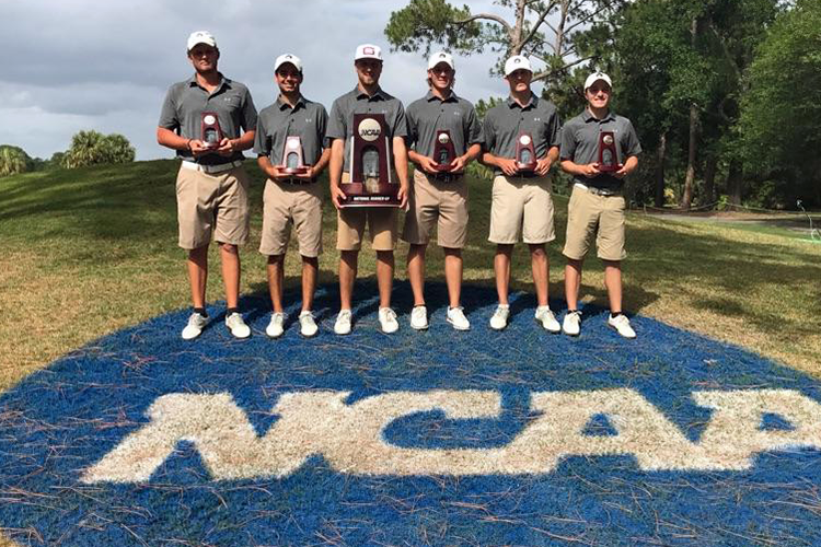Guilford College, 2nd Place, 2017 NCAA Division III Men's Golf Championships