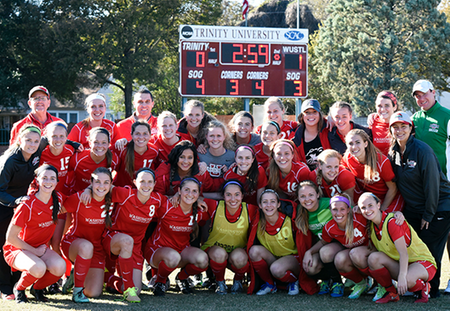 Megan Nicklay's Goal Sends No. 8 Washington University Women's Soccer to Final Four