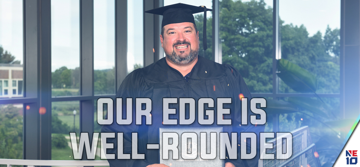 Embrace the Journey: Former SCSU Football Standout Joe Andruzzi Receives Degree