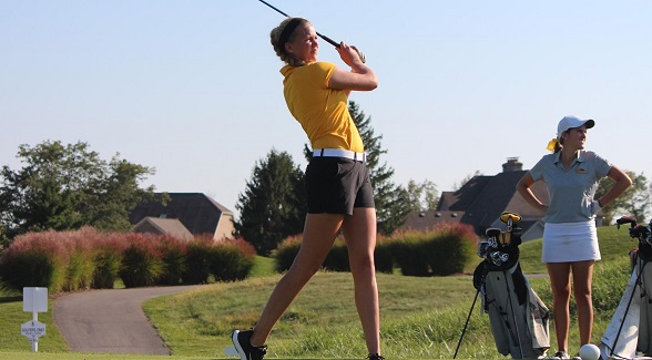 Swensen's 76 Leads Women's Golf In Round Two Of NC4K