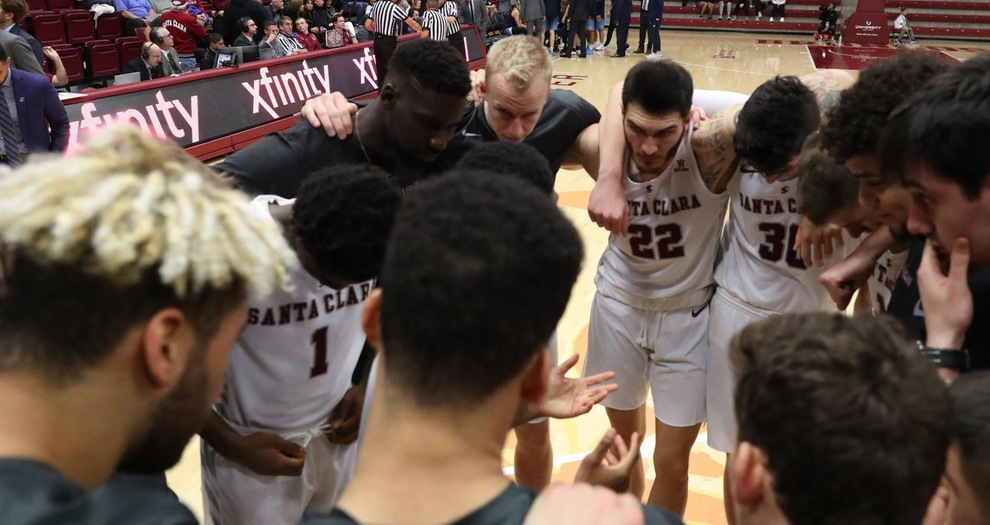 Men's Basketball Heads to Saint Mary's on Thursday