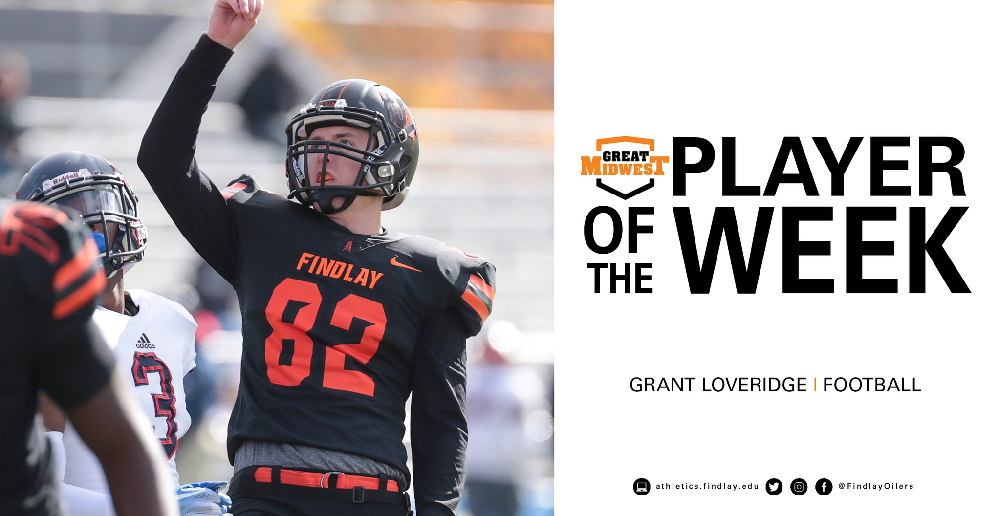 Loveridge Earns Special Teams Player of the Week