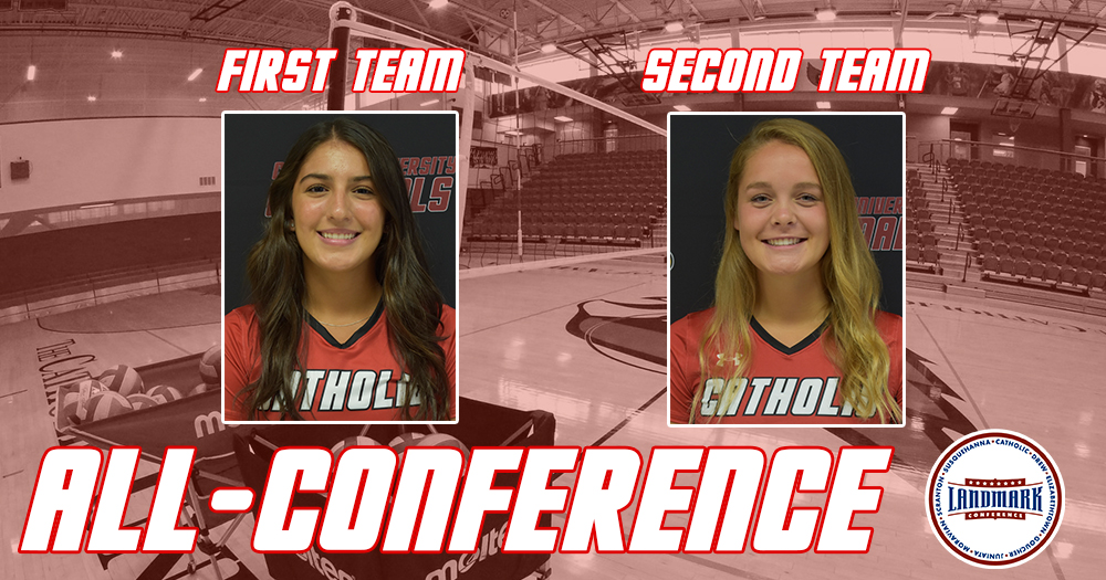 Martinez, Cooper Named to All-Landmark Conference Teams