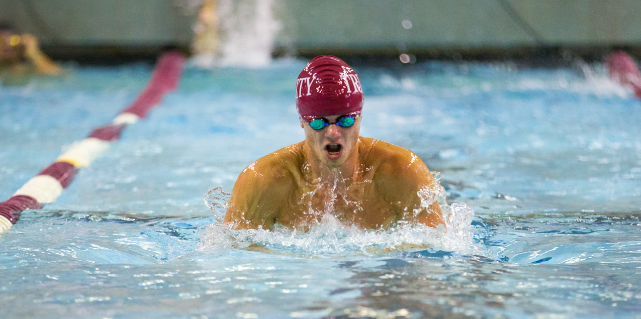 Elliot Fleming, Trinity University, Swimmer of the Week (Week 13)