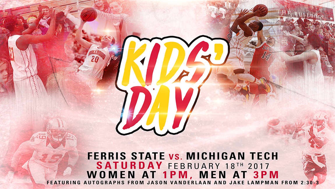 "Ferris State Basketball To Hold Special ""Kids Day"" This Saturday!"