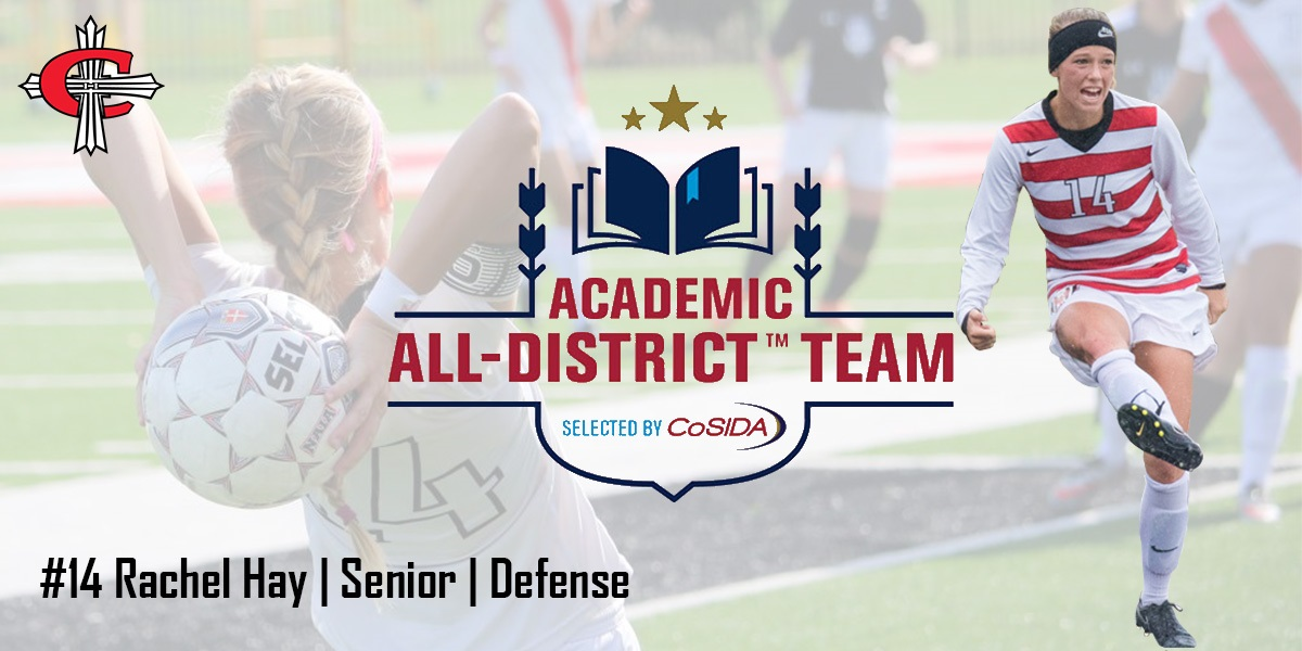 Photo for Rachel Hay named to CoSIDA Academic All-District team
