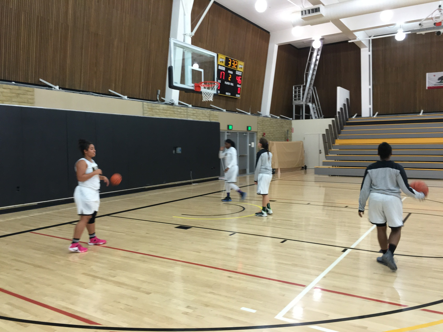 College of Marin Women's Basketball Falls to Las Positas In Hawks Classic Opener 67-56