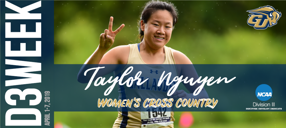 D3 Week Graphic - Taylor Nguyen (Women's Cross Country)
