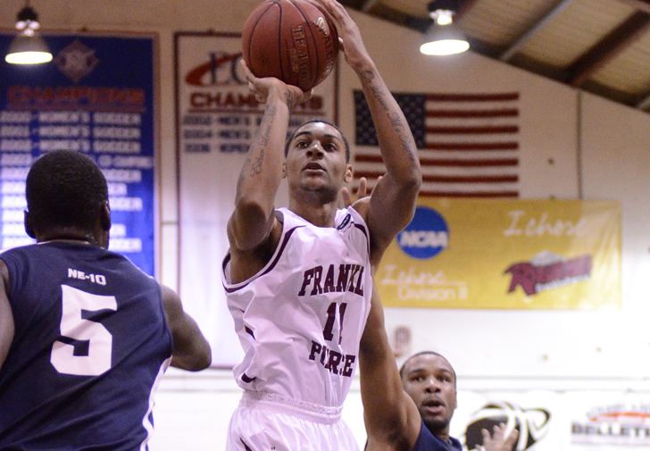 #15 Men's Basketball Closes with Furious Rally to Pull of 61-60 Win at Bentley