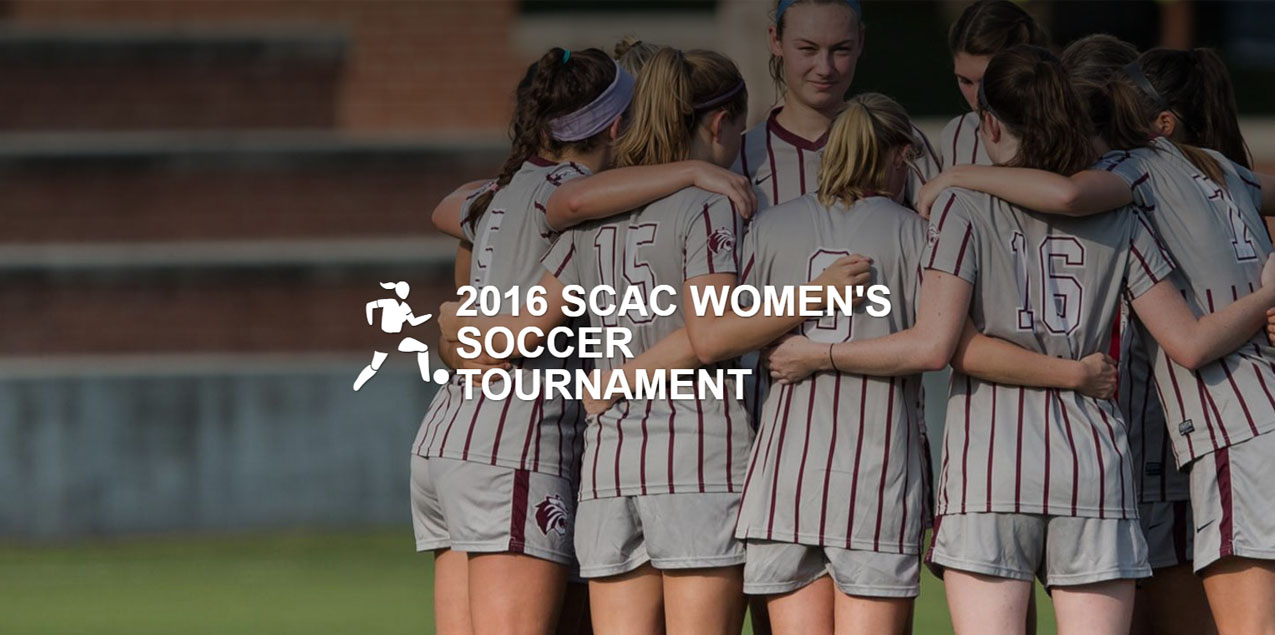 SCAC Women's Soccer Championship Website Released