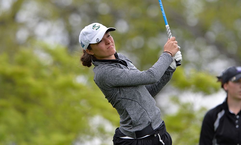 WOMEN'S GOLF IN FOURTH PLACE AFTER FIRST ROUND OF THE PRINCESS ANNE INVITATIONAL