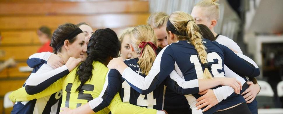 Volleyball Drop Matches to Visiting Post Eagles, 3-0