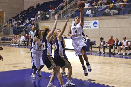 Lady 'Canes jump out to early lead, cruise past Toccoa Falls