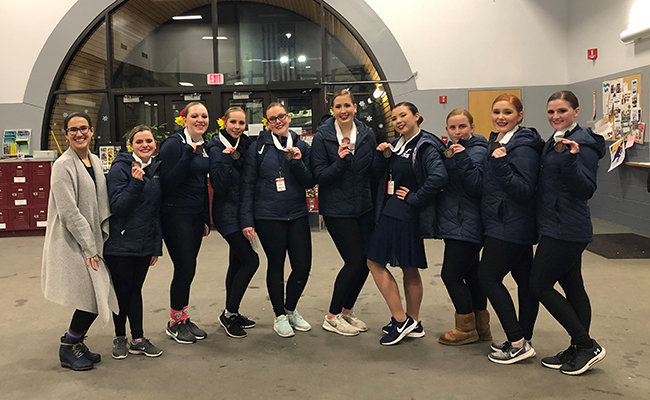 Thunder Compete at Synchro Illinois Competition