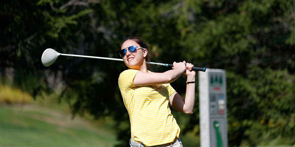 Tori Jordan Leads the Eagles in Day One of the NEIGA DIII Championship