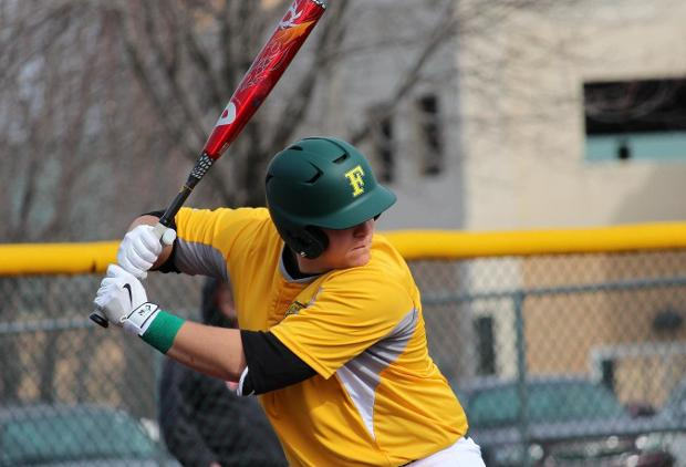 Seth Holler hit his second home run of the season on Saturday afternoon against PGCC.