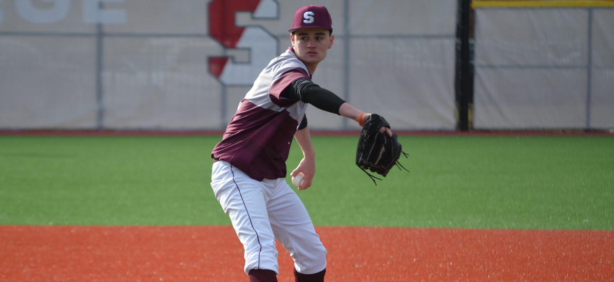 Baseball Forces Split With Clark To Wrap Up NEWMAC West Series
