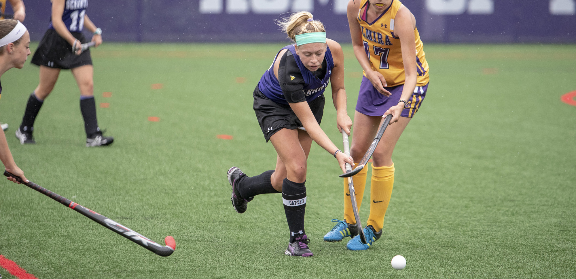 Pair of Second Half Goals Propels Field Hockey Past Marywood