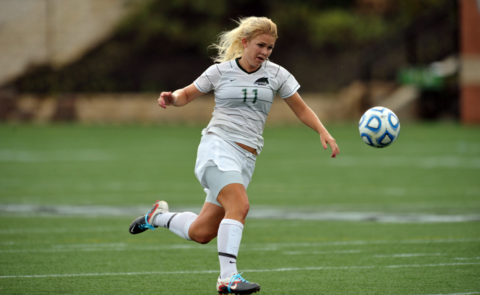 Mustang Soccer Alumna Stephanie Eyler to Play for Alnö IF in Sweden