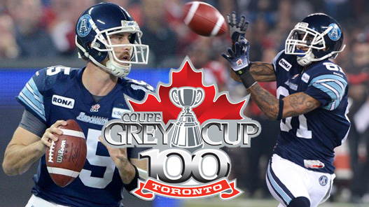 Ray and Barnes Add Hornet Flavour to Grey Cup Title