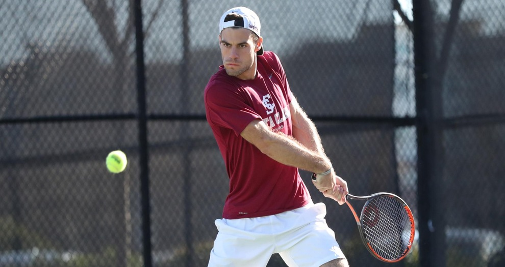 Men's Tennis Returns To Action On Sunday Against New Mexico