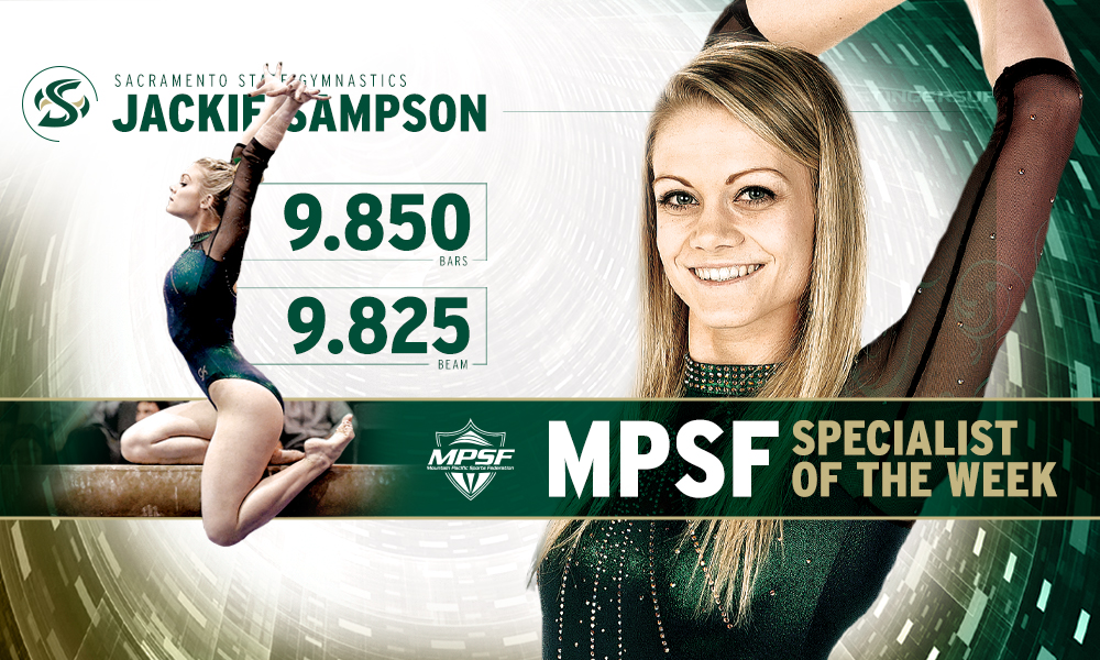 JACKIE SAMPSON NAMED MPSF SPECIALIST OF THE WEEK