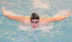 Swimmers Sweep January Athlete of the Month Honors
