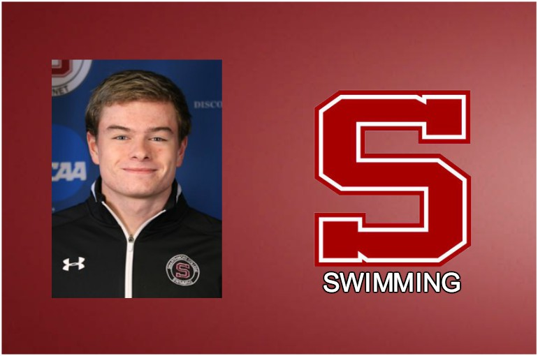 Alec Menzer, Men's Swimmer of the Week, 12/11/17