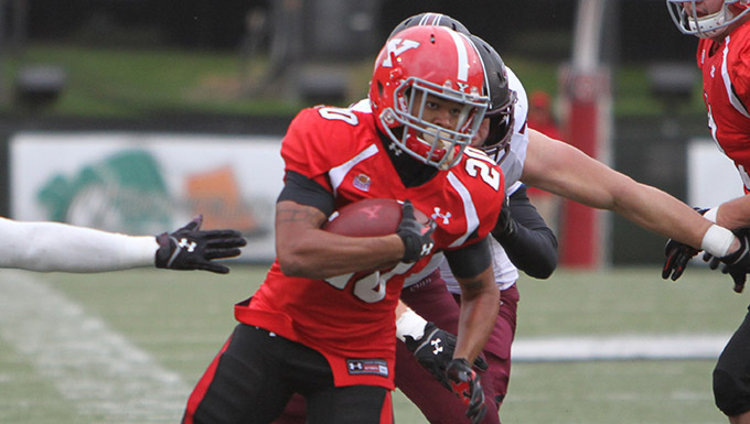 Total Team Effort Lifts Football to 26-14 Win Over Southern Illinois