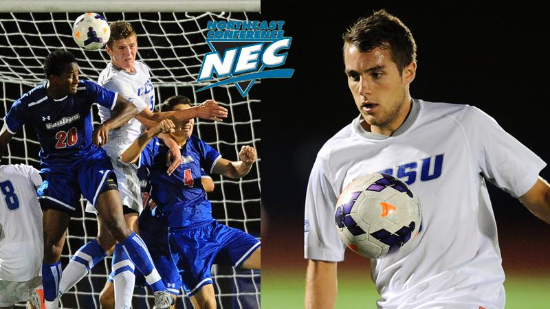 Men's Soccer Pair Honored by NEC