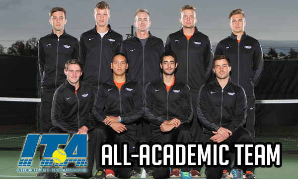 Tusculum men's tennis named ITA All-Academic Team for 10th straight year