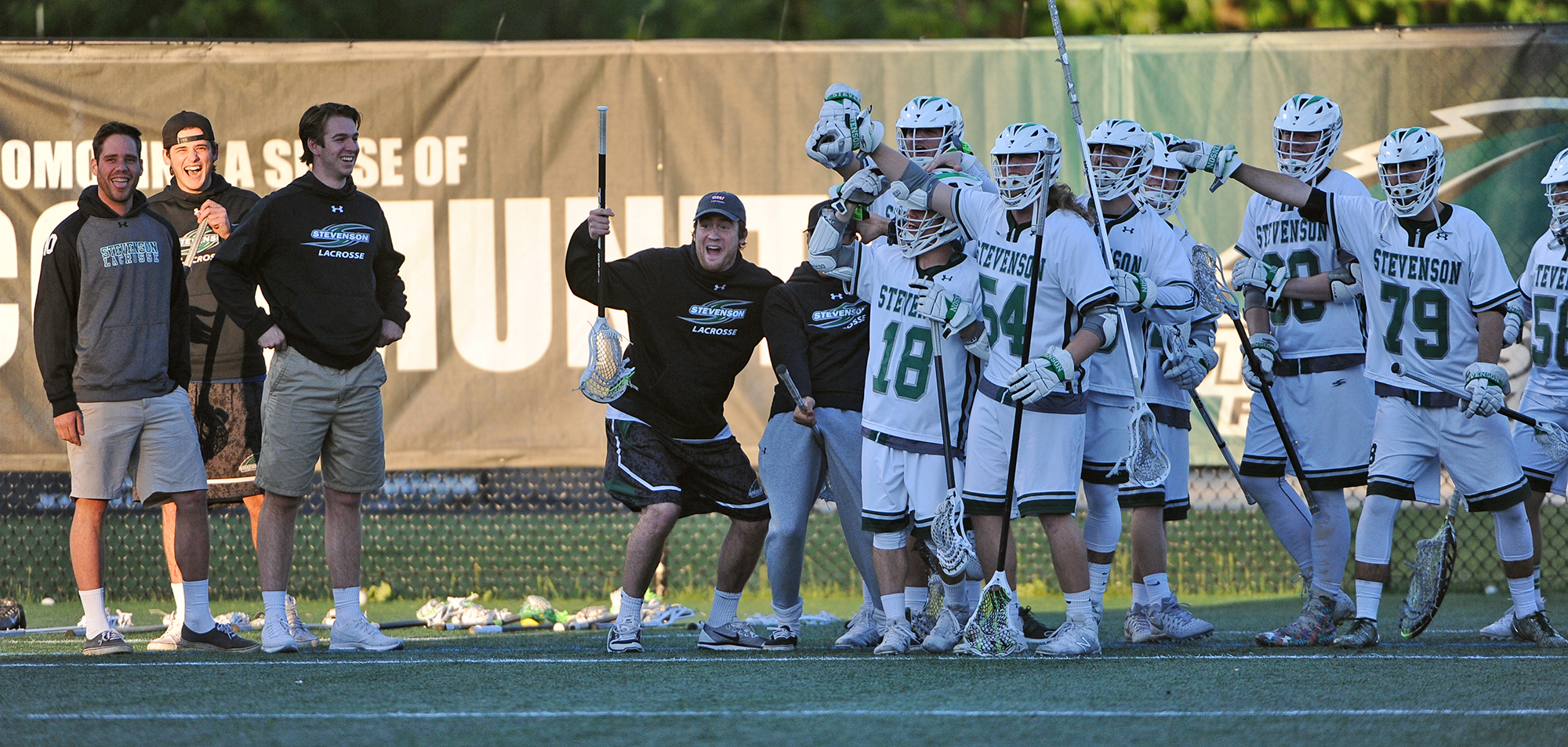 Men's Lacrosse Faces Off With Albright for Conference Title Saturday