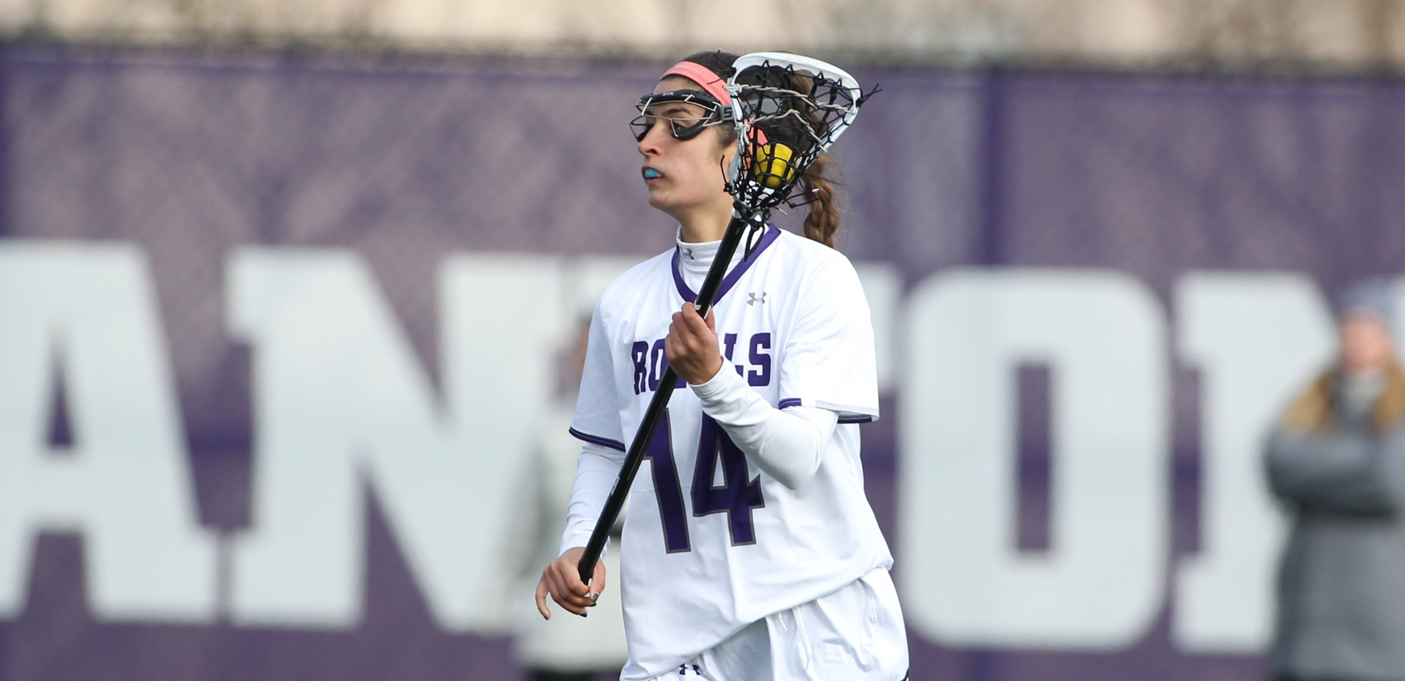 Freshman Halle Conklin scored four goals and added an assist in her first collegiate game, leading Scranton to a convincing 22-9 win over No. 16 Messiah on Saturday.