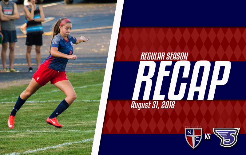 Women's Soccer With Tough Road Loss on Opening Day